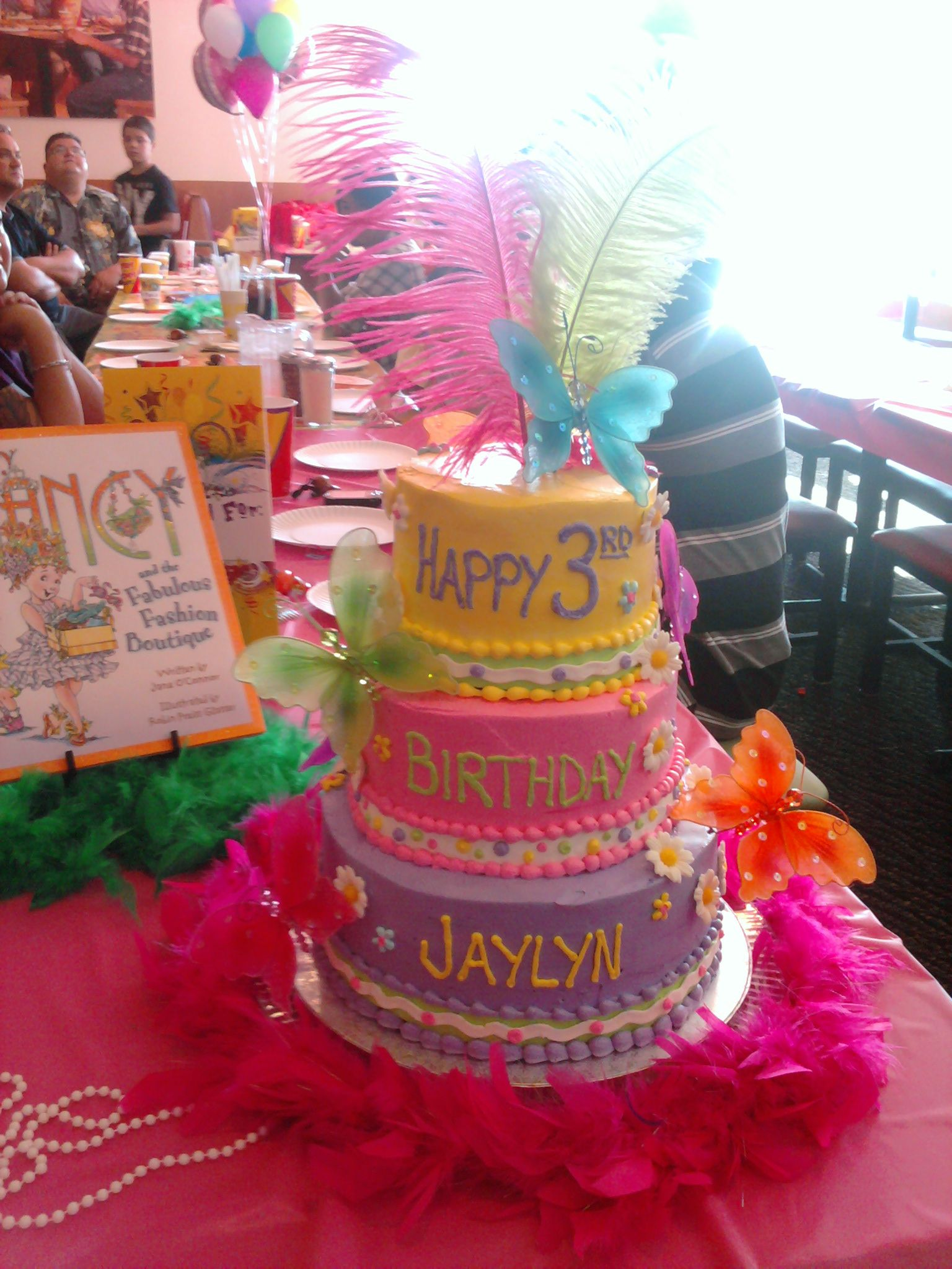 Fabulous Fancy Nancy Birthday Cake With Images Fancy Birthday Party Funny Birthday Cards Online Barepcheapnameinfo