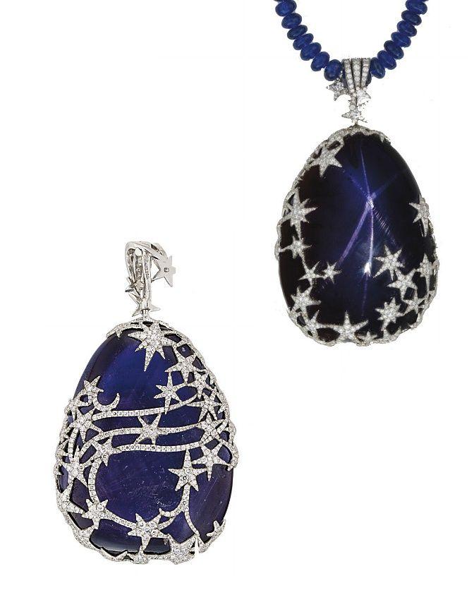 Simple sapphire necklace royal blue sapphire necklace jewelry simple sapphire necklace royal blue sapphire necklace mozeypictures Choice Image
