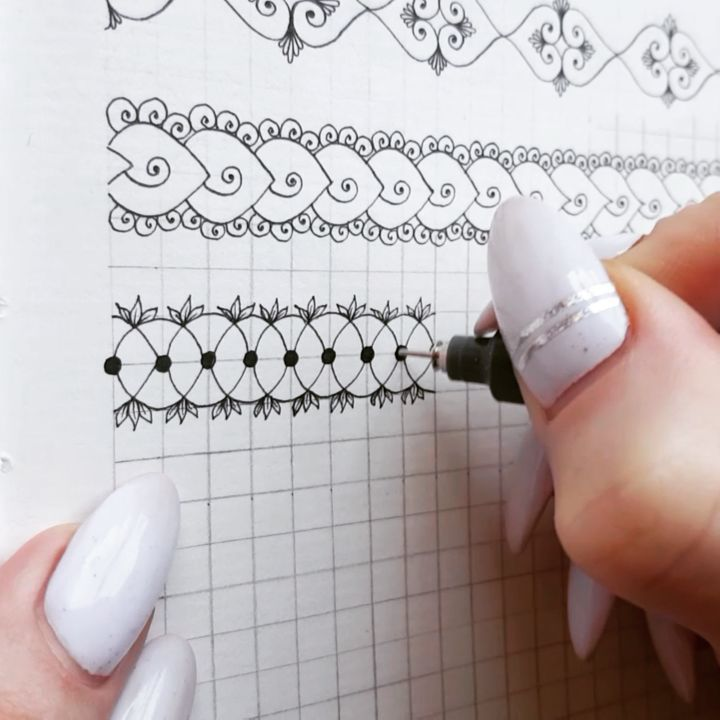 Candela Garcia Adli Kullanicinin Segredos Do Papel 2 Panosundaki Pin Mandala Art Zentangle Desenler Zentangles