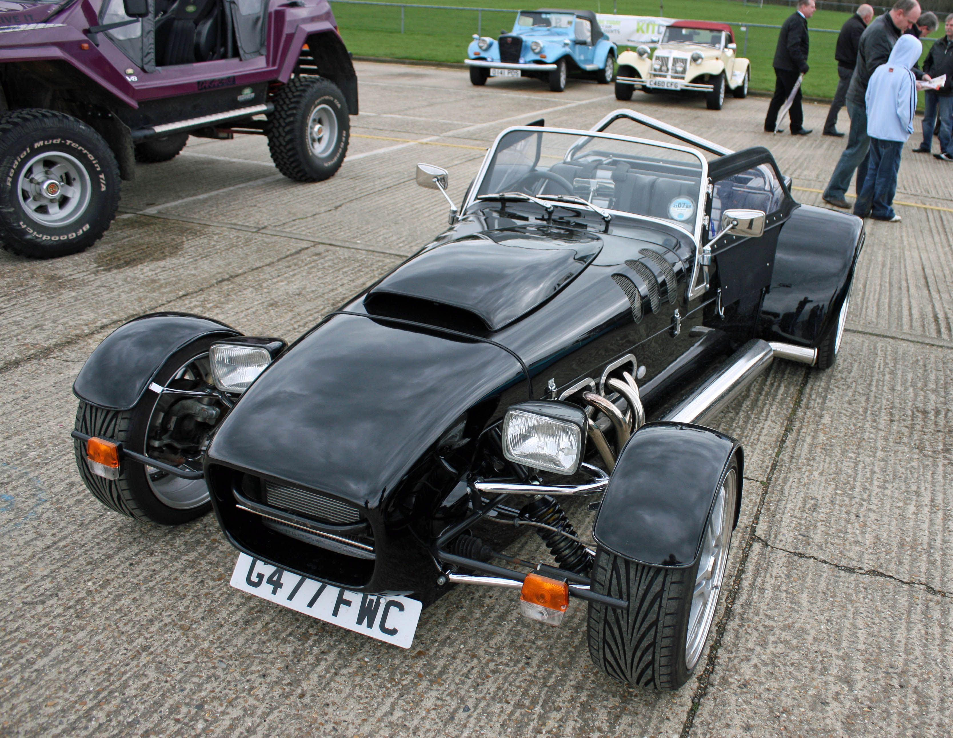 Caterham style, at the kit car show Kent UK   Cool Cars and Toy ...