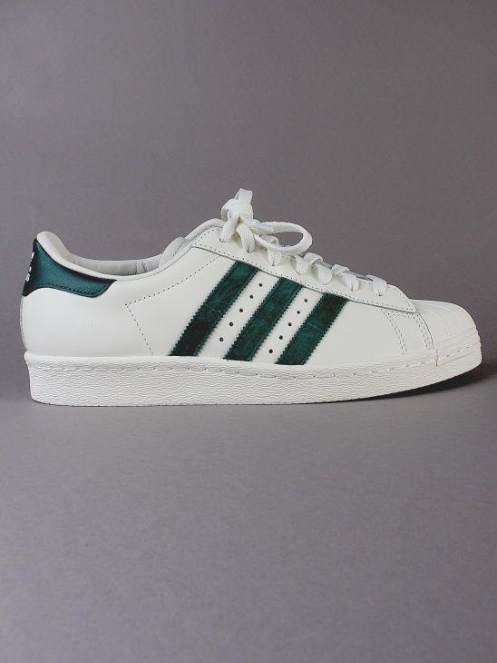 Superstar 80s DLX Green Adidas Aplace