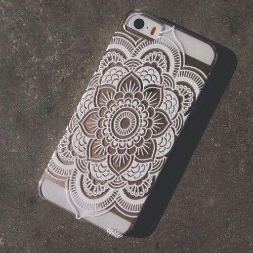 Imagen de case, iphone, and mandala