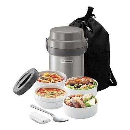 Mr . Bento Lunch Jar Set