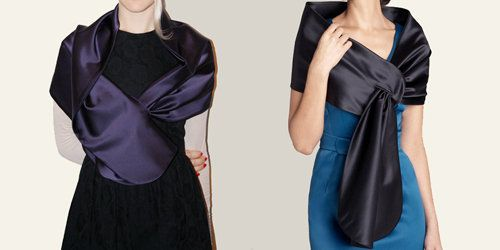 Weekend Designer Satin Stole the Show!