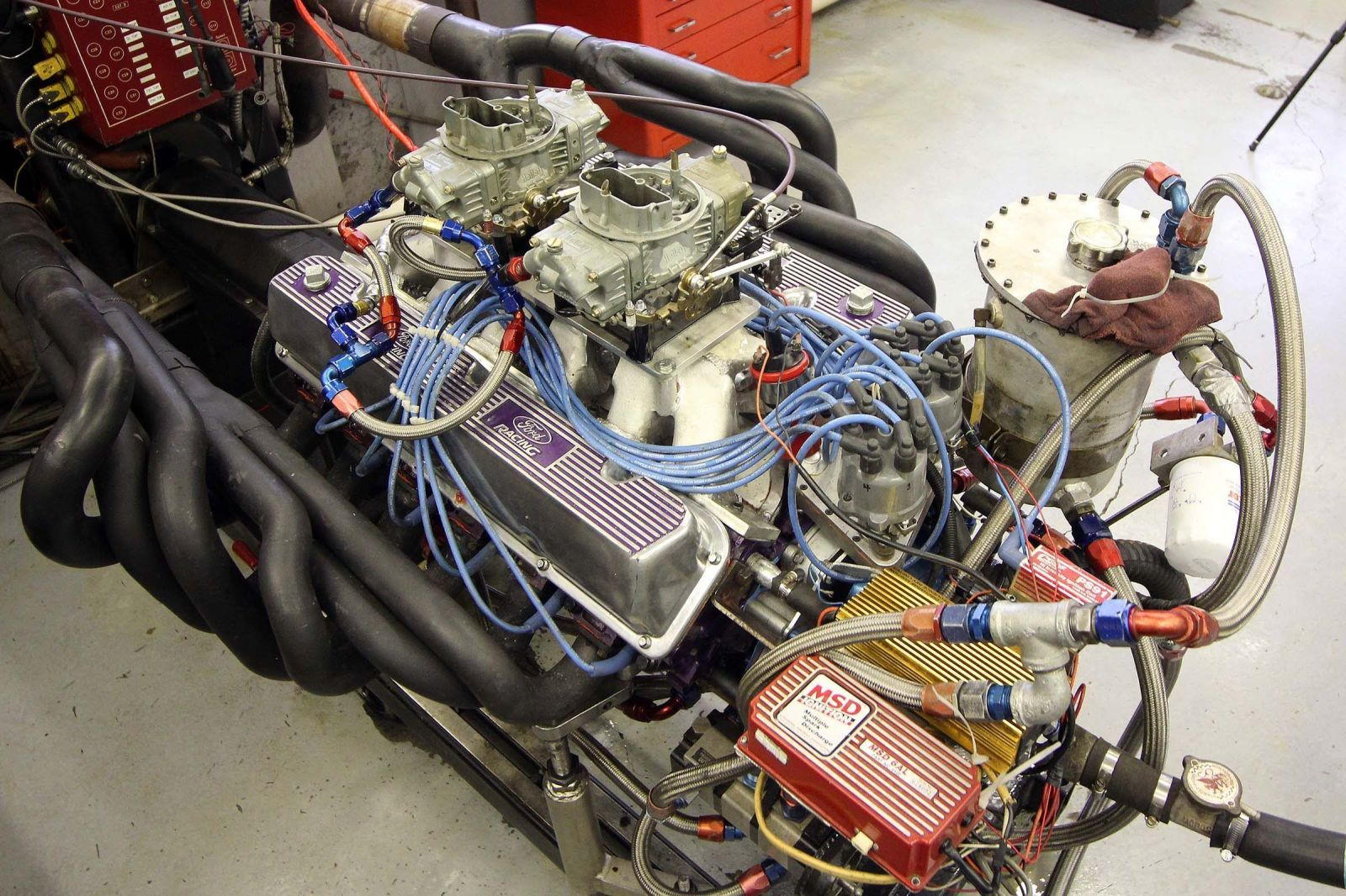 Watch This Madman Build a 697-Hp Ford V-12  - PopularMechanics.com