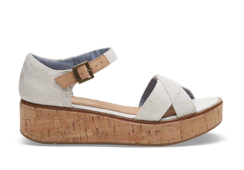 d745f3521d73a TOMS TOMS Natural Yarn Dye Women's Harper Wedges. #toms #shoes #all ...