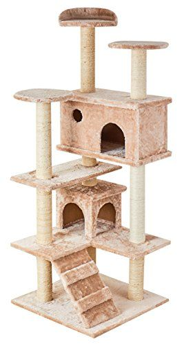 Qpets Easy To Assemble Cat Tree With Step By Step Instruction