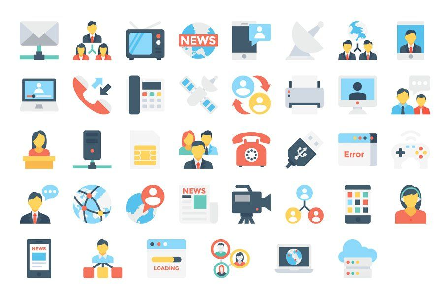 150 Network And Communication Icons Network Icons Communication Communication Icon Icon Png Icons