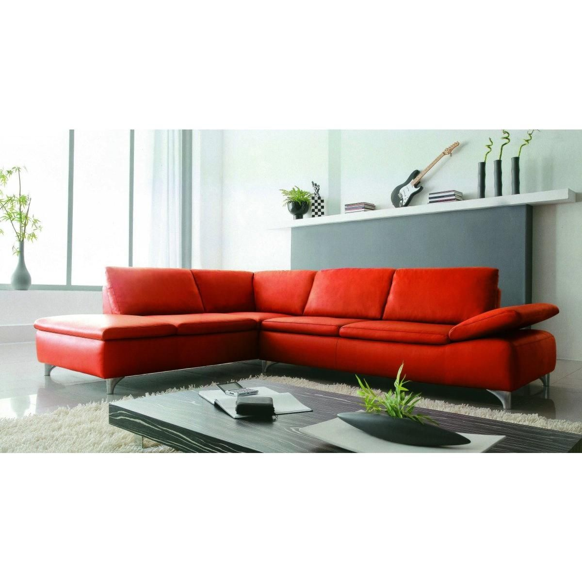 Divani Casa 2915 Modern Bonded Leather Sectional Sofa Leather