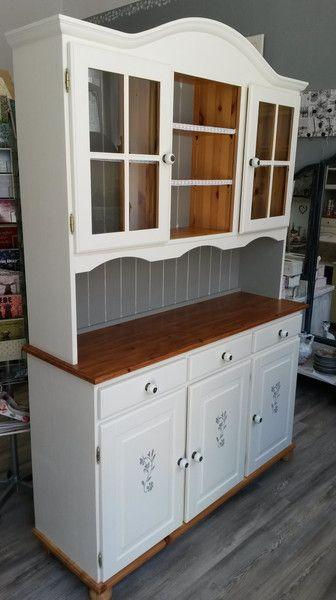 Süßes Küchenbuffet Küchenschrank im Landhausstil Diy design - designer kommoden aus holz antike