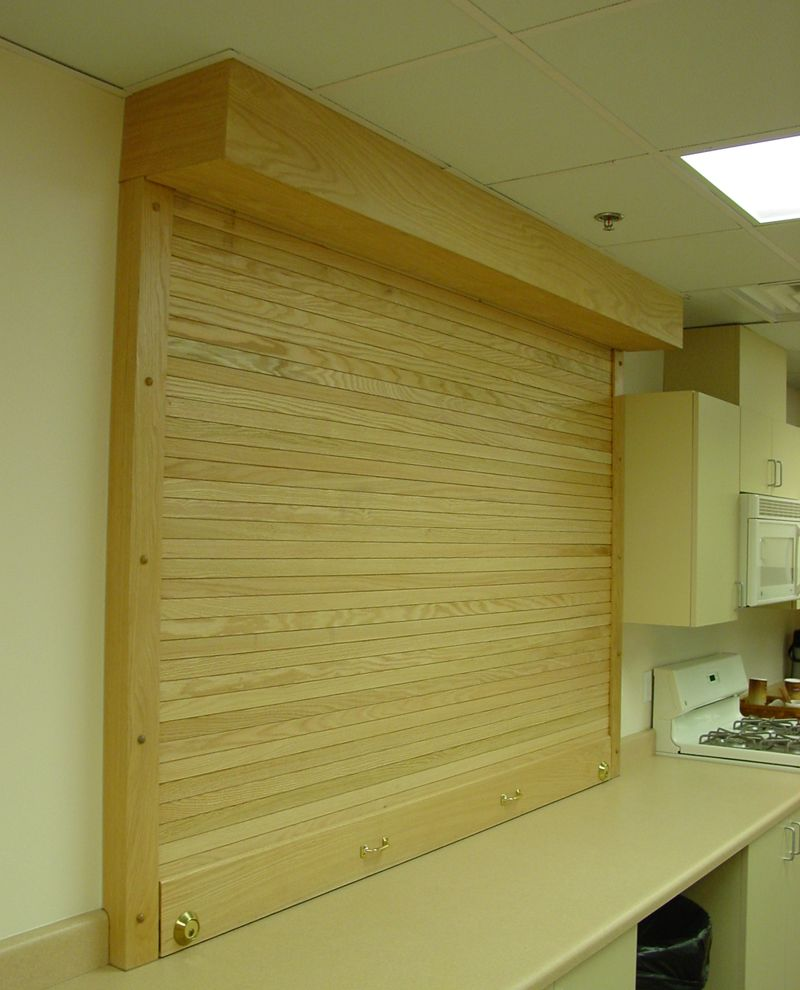 Wood Service Roll Up Door With Images