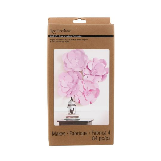 Recollections craft it paper flowers kit pink birthdays recollections craft it paper flowers kit pink pronofoot35fo Gallery