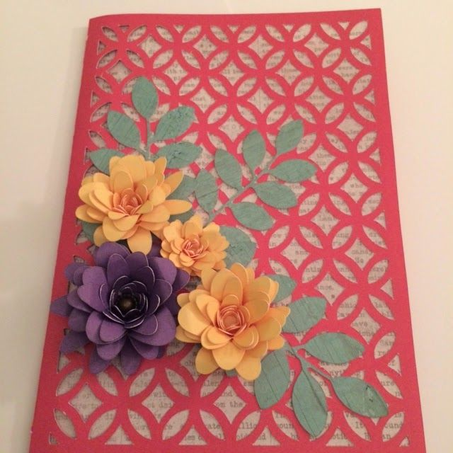 The Patterned Paper Place: Overlay Card #ArtPhilosophy #ArtfullySent #Cricut #CTMH