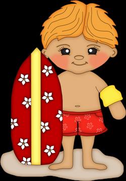 SUMMER BOY AND SURFBOARD CLIP ART | Clip art, Clip art ...