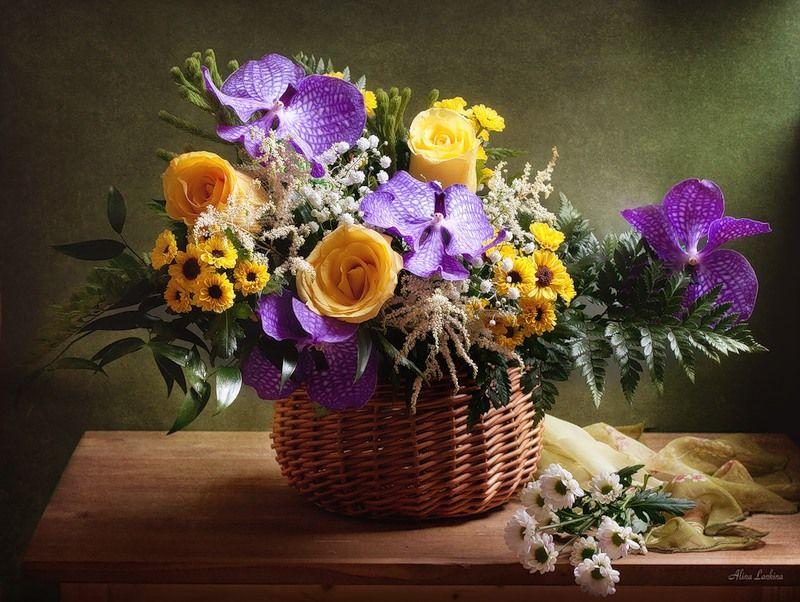 Картинки красивые и прикольные про цветы можно