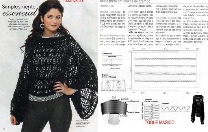 Todo para Crear ... : horquilla y crochet | Hairpin lace | Pinterest ...