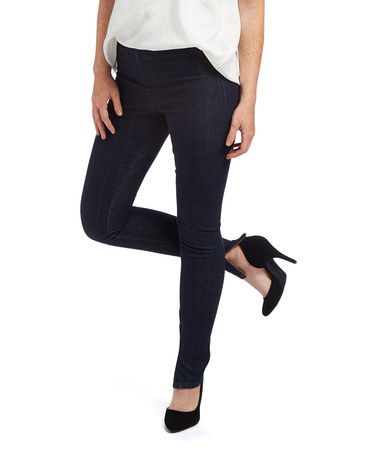 c0328dd769886 Loving this Dark Blue JJ Jeggings on Black Friday #zulily! #zulilyfinds