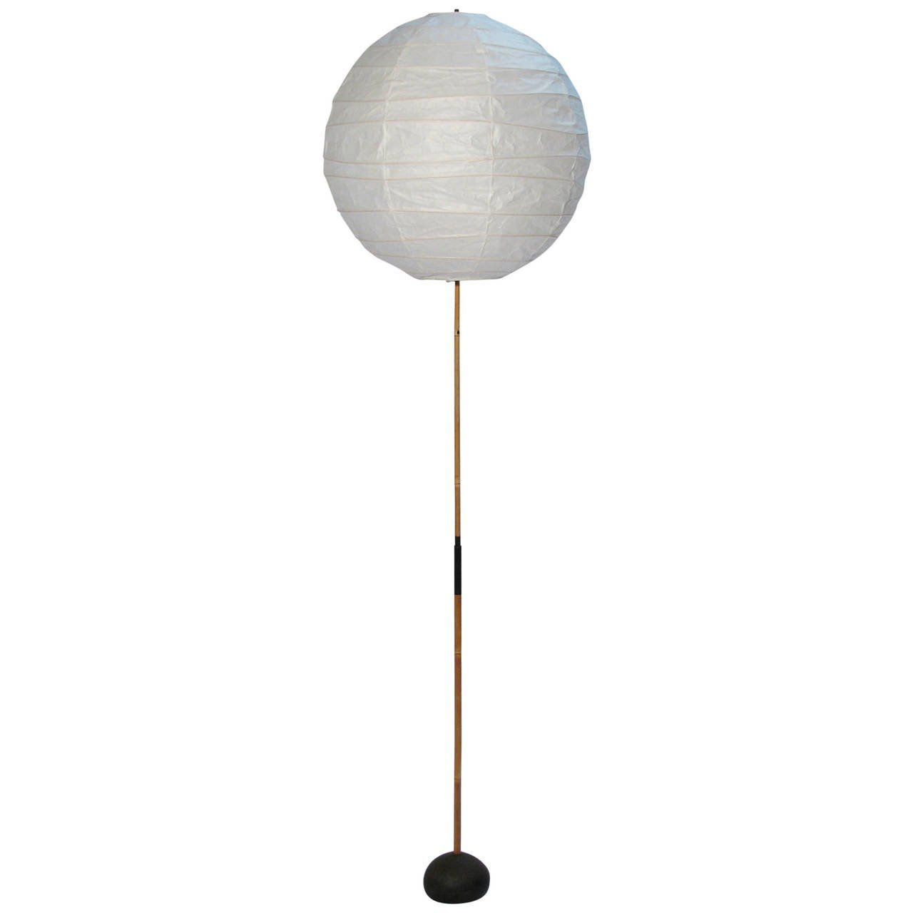 Isamu Noguchi Bamboo Floor Lamp for Japanese modern there is no ...