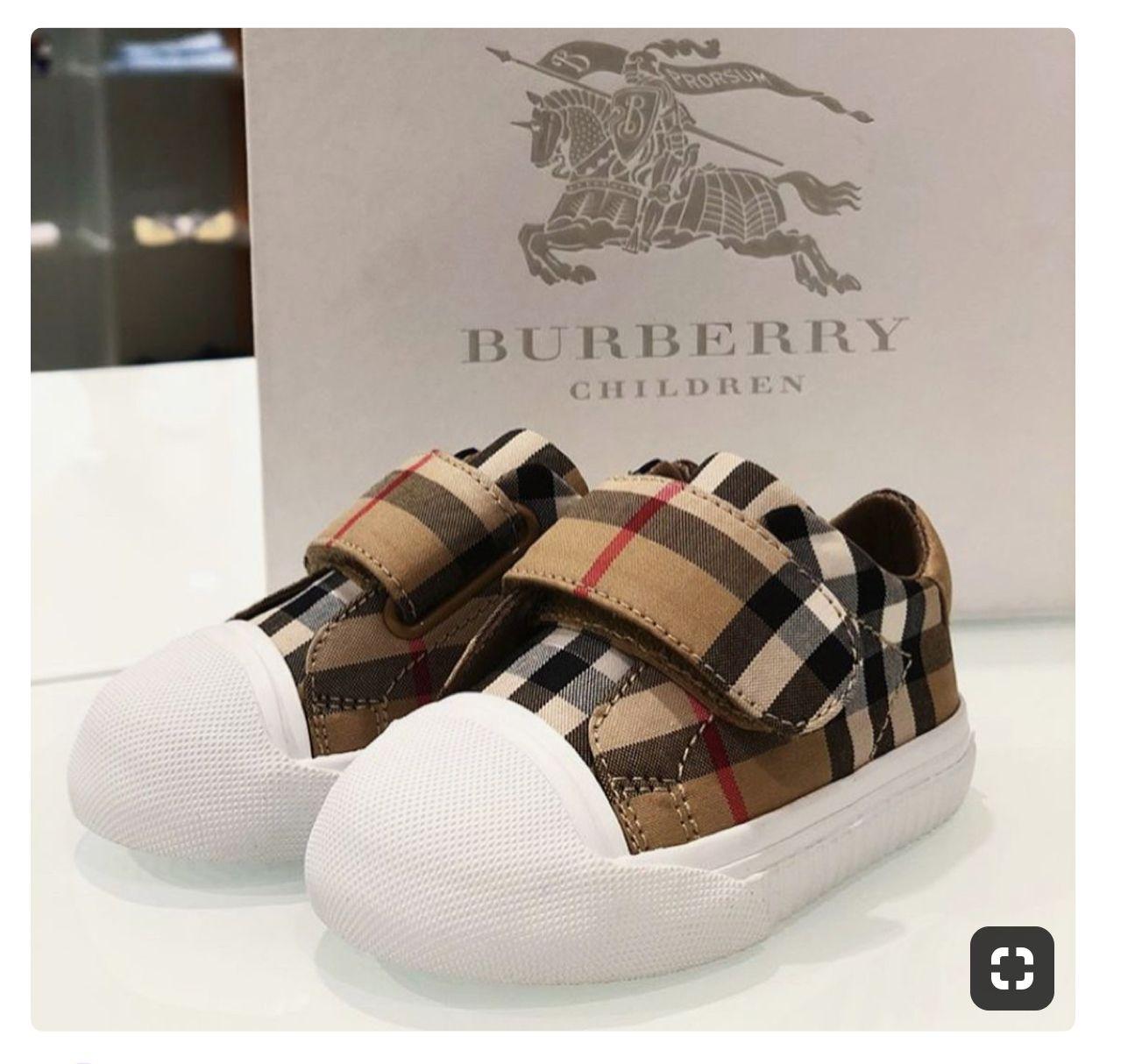 BURBERRY KIDS SNEAKERS 💕💕💕💕 | Cute baby