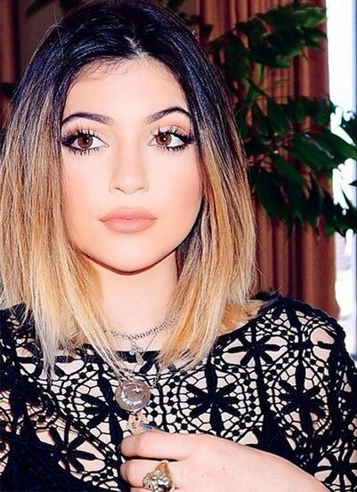 I'm in love with Kylie Jenner's ombre hairstyle!