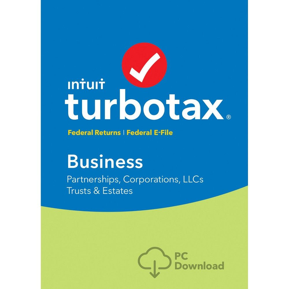 TurboTax Business Fed + Efile Windows 2017