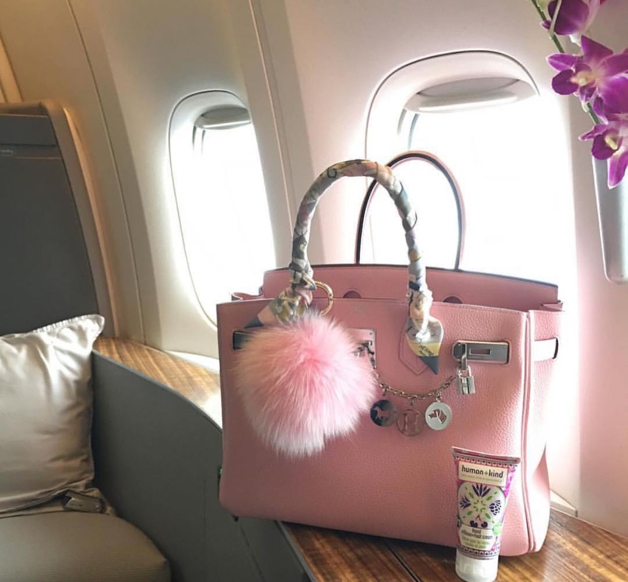 Pastel Hermes Birkin Bag