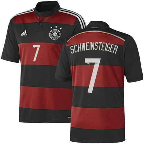 f4696440d80add Youth Adidas Germany  7 Bastian Schweinsteiger Authentic Black Away 2014 World  Cup Soccer Jersey