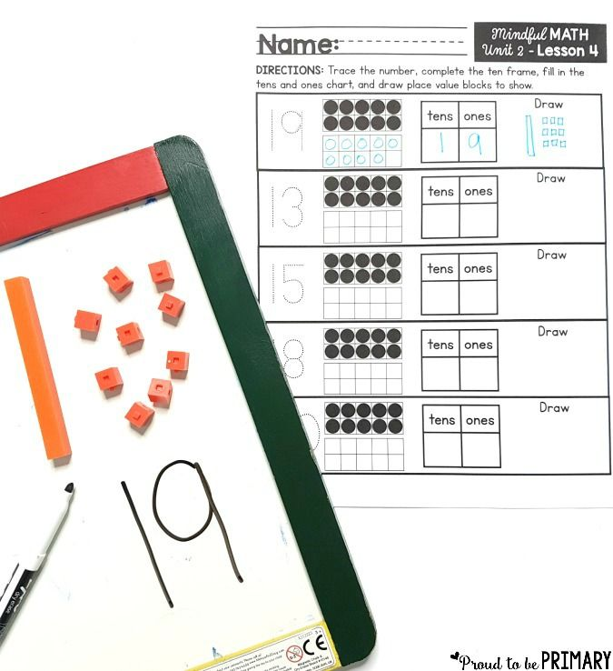 Activities for Building Number Sense to 20 | Worksheets, Math and ...