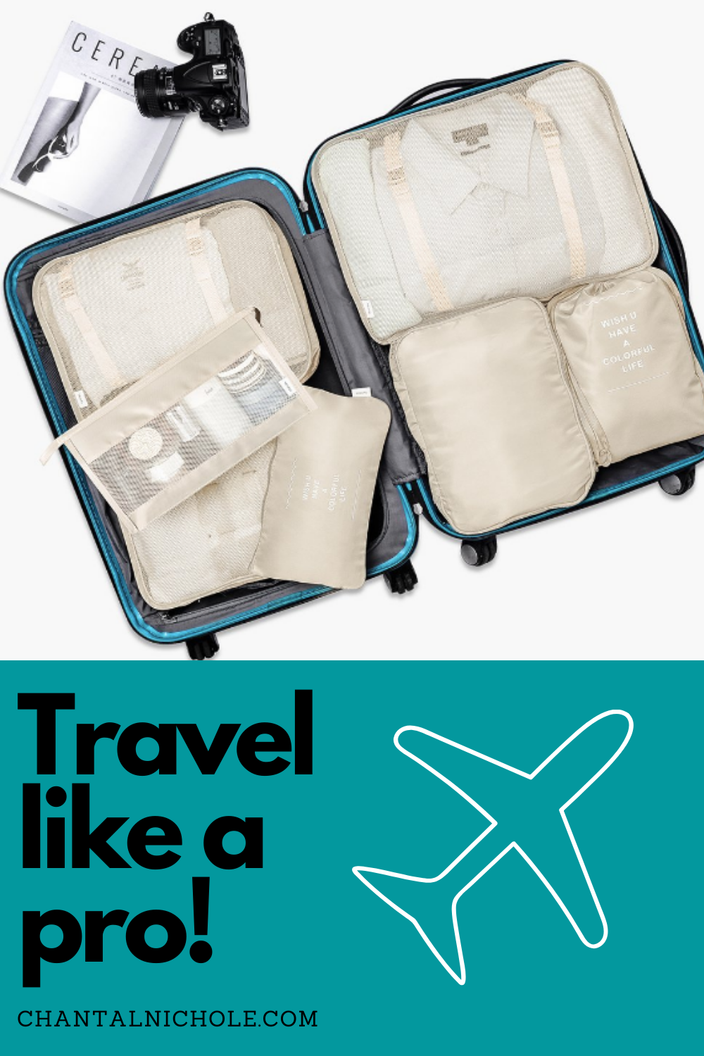 Learn how to pack and organize a carryon luggage. This blog will provide all the tips and tricks to pack for any destination. #carryon #packingtips #howtopack #organize #packlikeapro #travel #packing #pack