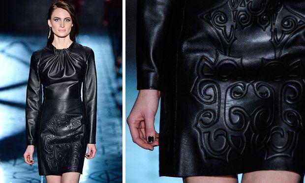 Inverno 2014: novas versões do couro - Industria Textil e do Vestuário - Textile Industry - Ano VI