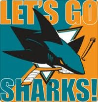 Lets Go Sharks | Shark, San jose sharks, Hockey logos