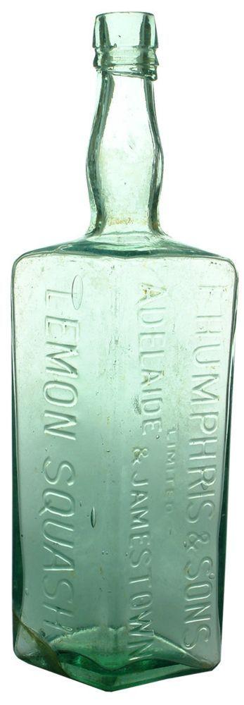 Auction 26 Preview | 571 | Humphris Adelaide Jamestown Lemon Squash Cordial Bottle