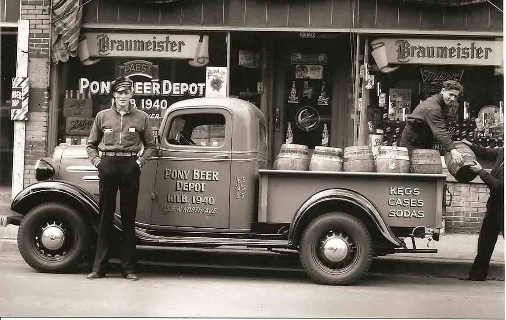 And A 1936 Beer Truck Vintage Photo Goodness