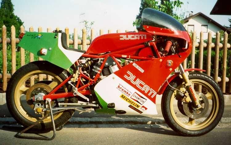 Harris Ducati 750 Tt Formula 2 Replica Ducati Ducati 750