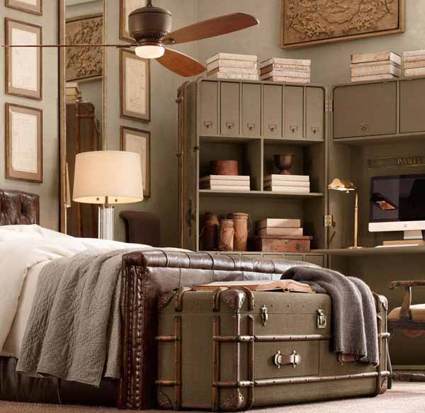 How To Decorate A Bedroom With Antique Furniture In 2020 Modern Bedroom Interior Colorful Bedroom Design Upholstered Bedroom Set