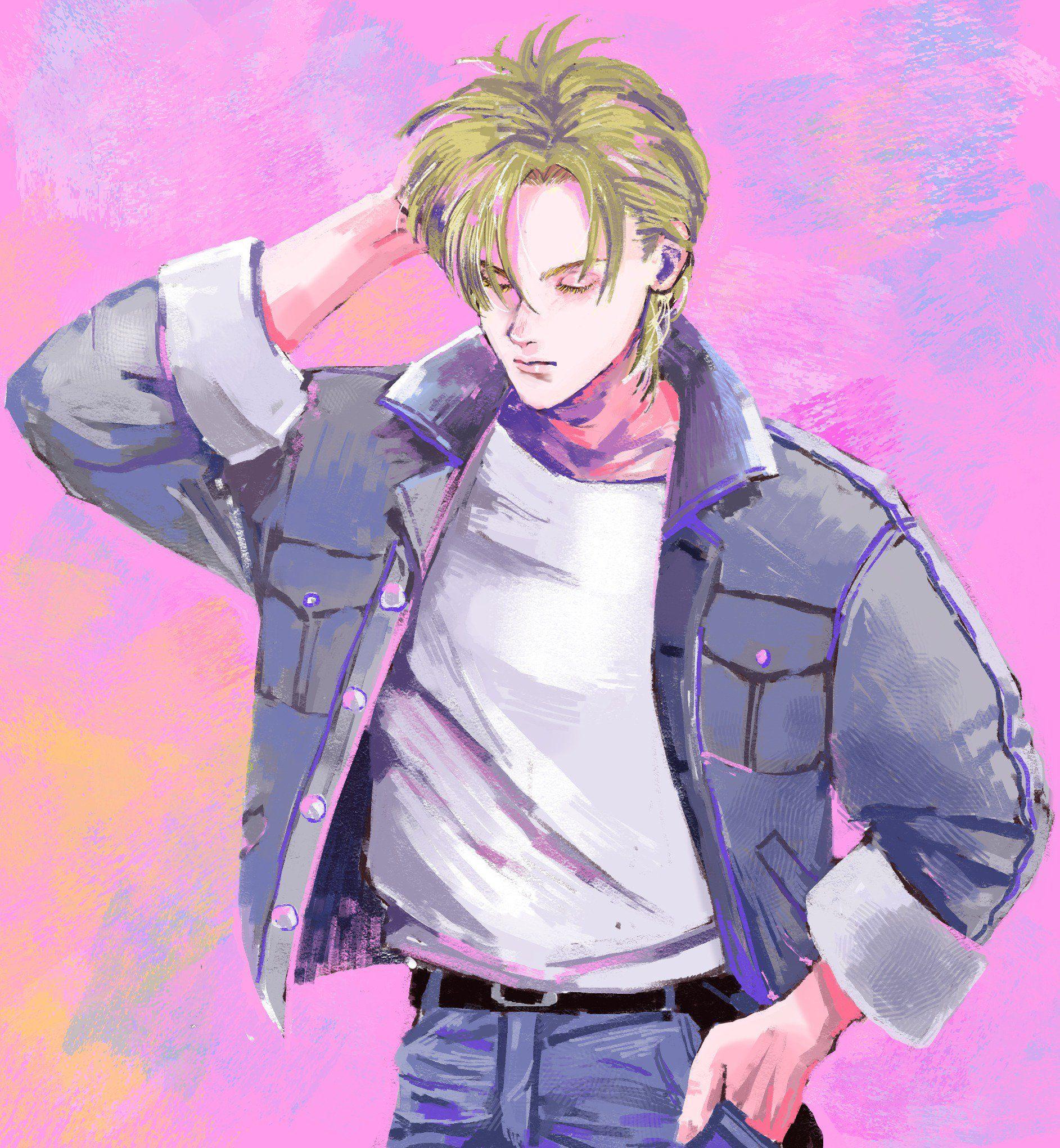 Ash Lynx Anime Anime Art Anime Boy