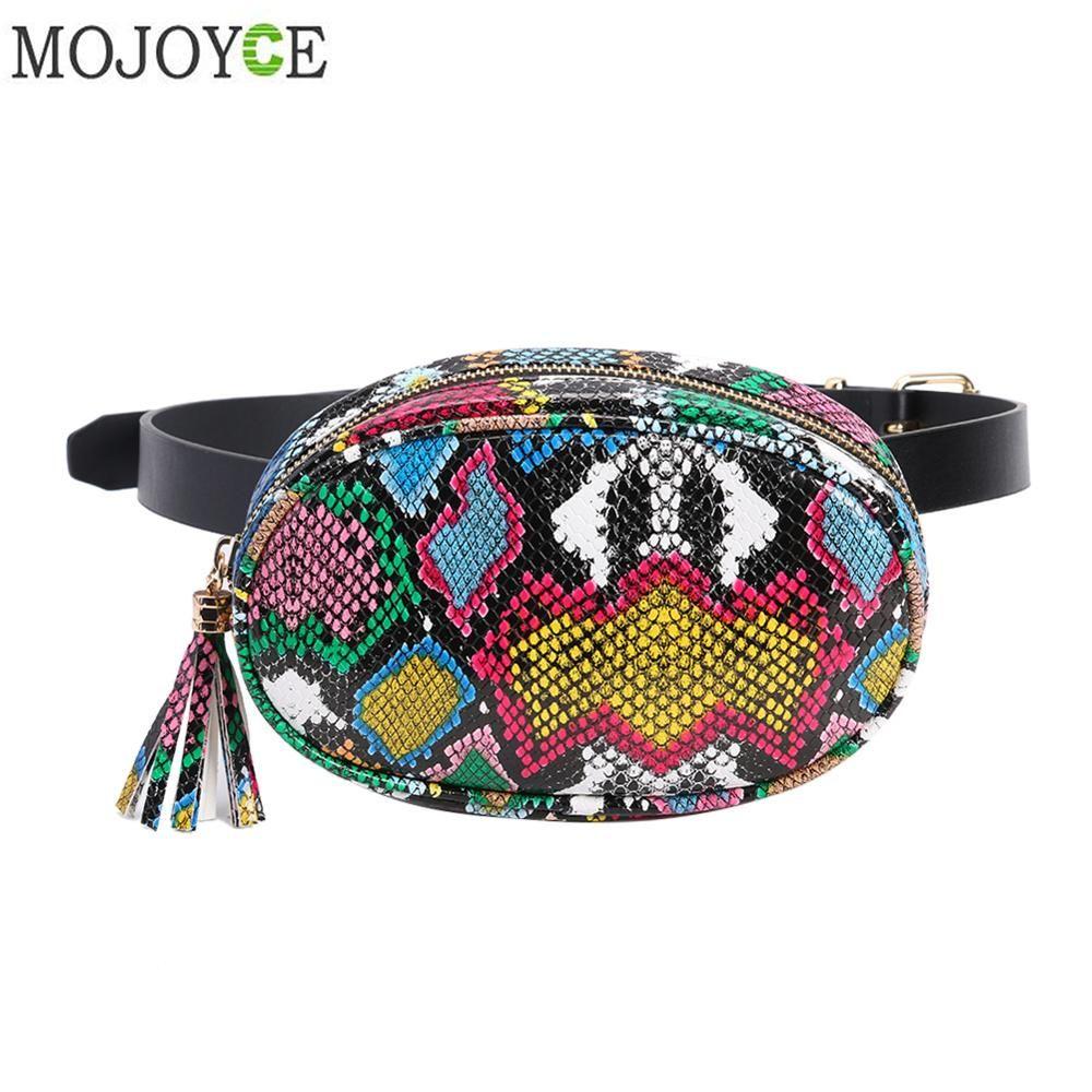 Photo of Serpentine Fashion Women's Waist Packs Brief Girls Sling Chest Bag Zipper Belt Bag for Women Ladies Fanny Bags Travel Bum Bags – BoughtAgain