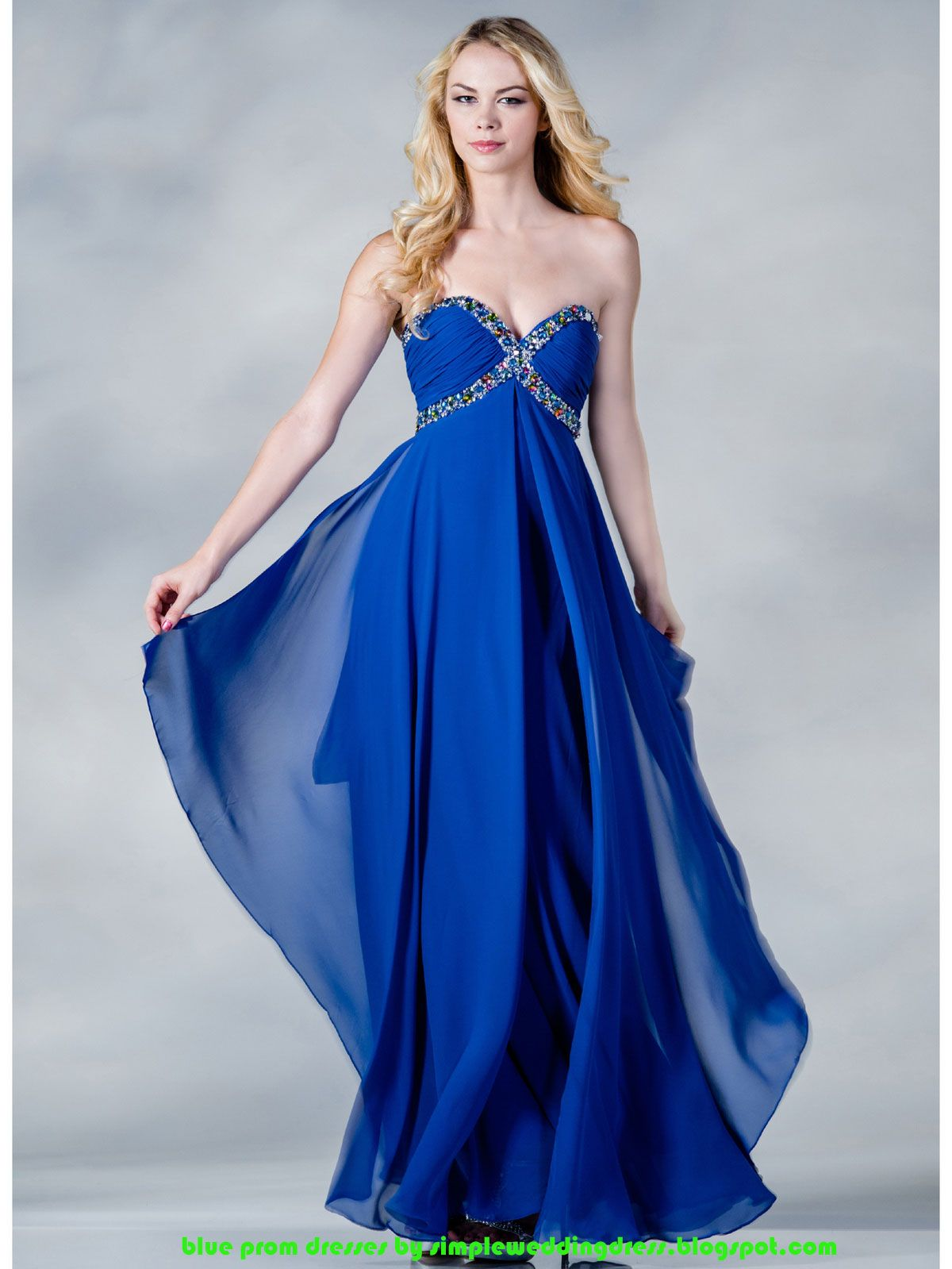 Buy blue prom dresses in low price off see on simpleweddingdress