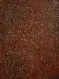 Medium Dark Brown Faux Leather Paint On Wall