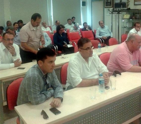 EZZİB toplantılarını zeytin üretimi yapılan bölgelerde yapacak