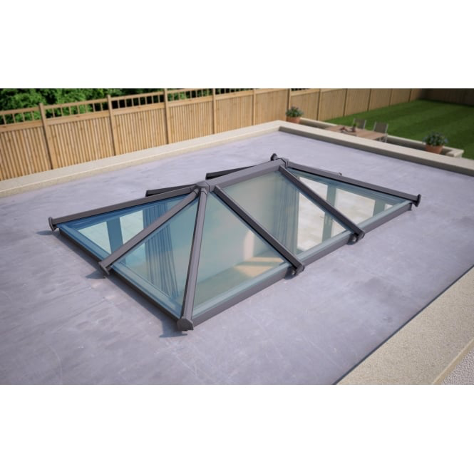 Glass Roof Lantern Activ Glass 2000mm X 3000mm Roof Lantern Glass Roof Glass Roof Extension