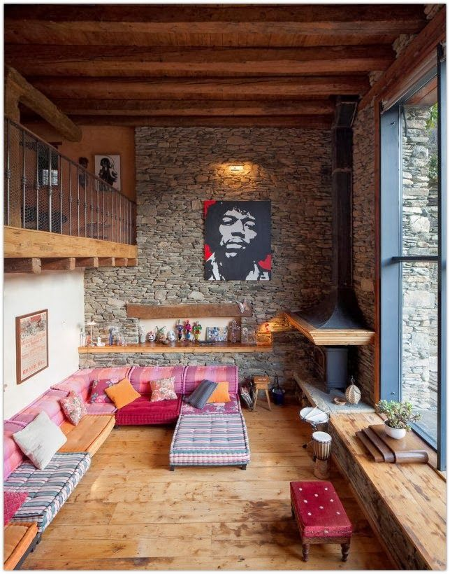 3 Home Decor Trends For Spring Brittany Stager: Art Symphony: A Renovated Farm In The Spanish Pyrenees