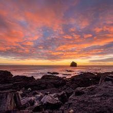 Sonnenuntergang In Island Herbst 2017 Island Pinterest Lofoten