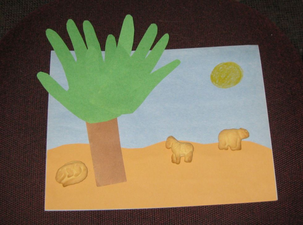 Preschool Storytime Crafts Animal Safari Could Count The Number