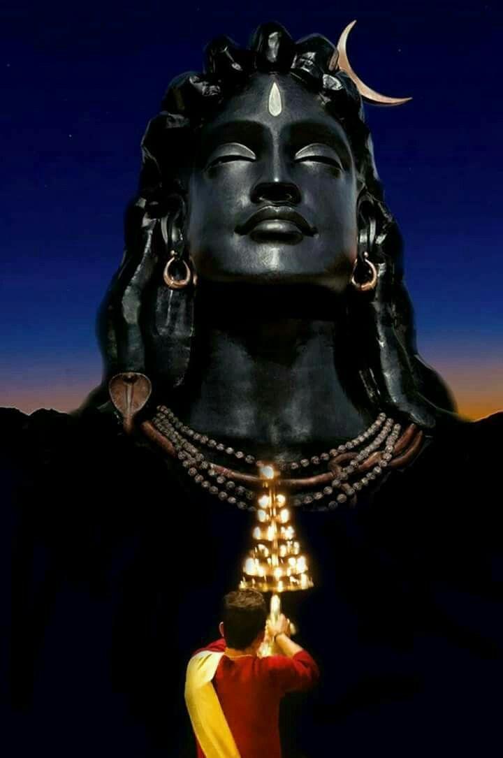 adiyogi shiva hindu shiva lord siva pinterest