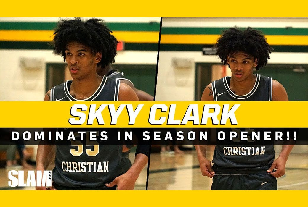 Skyy Clark Drops 30 In 59 Point Blowout Win High School Basketball Is Back On The West Coast Led By Four Sta Nba Clothing Nba News High School Basketball