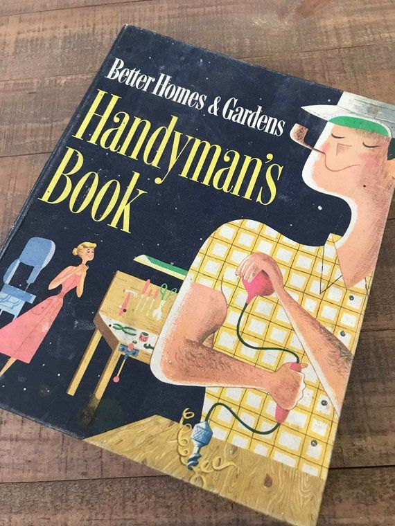 1957 Handyman's Book, Vintage Better Homes and Gardens