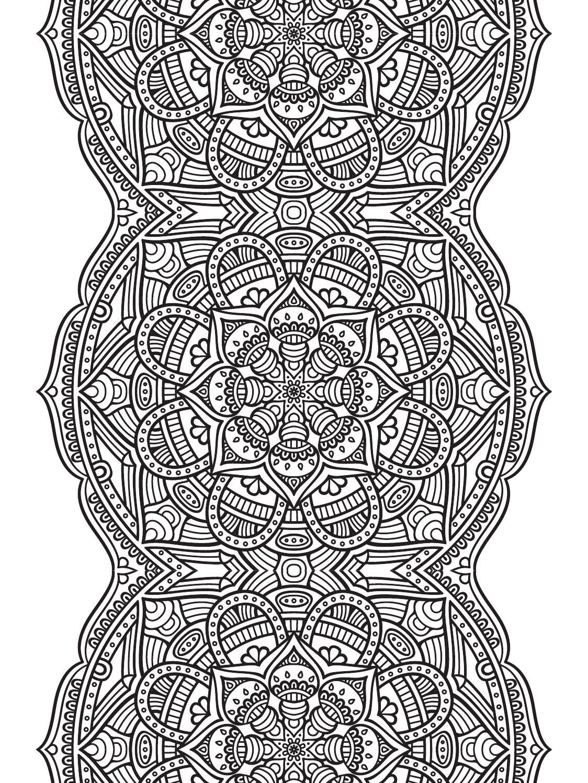 Mindfulness Mandalas Nº3   Mandala coloring, Adult ...