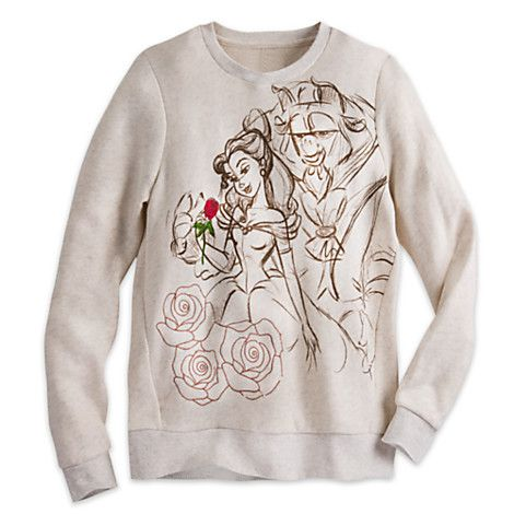 Beauty And The Beast Long Sleeve Pullover For Women Disney Store