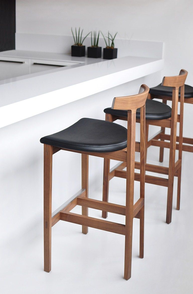 Bar height kitchen island  TORII BAR  Stool Torii Collection By BENSEN  Wooden stools Bar